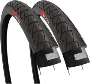 Fincci Pair 26 x 1.95 Inch 53-559 Foldable Slick Tires
