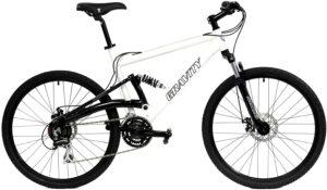 2021 Gravity FSX 1.0 Dual Full Suspension Mountain Bike