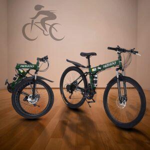 ACESPEE 26 Inch Folding Mountain Bike