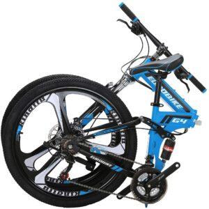 """OBK G4/G6 26"""" Full Suspension Folding Mountain Bike"""