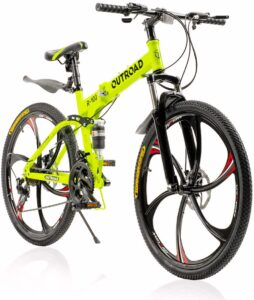 PanAme Folding Mountain Bike